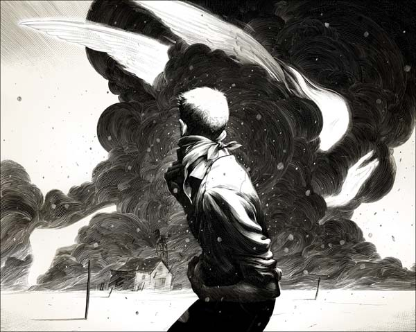 White And Black Illustration: Black And White Illustrations By Nicolas Delort