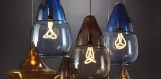 Caspian Grande and Mali Pendant Lights designed by Tech Lighting