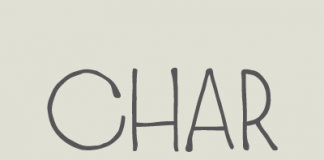Charmante hand-drawn typeface by Juraj Chrastina