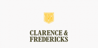 Clarence & Fredericks - Logo Design by Fieldwork