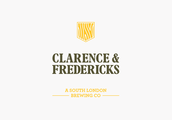 Clarence & Fredericks - Logo Design by Fieldwork