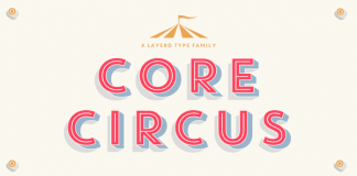 Core Circus layered type family by S-Core