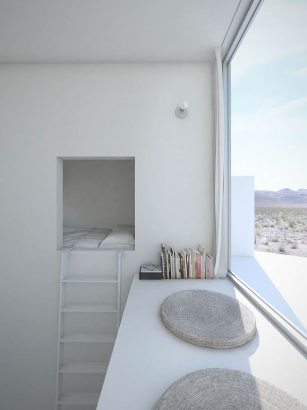 Inside the Four Eyes House in Coachella Valley, California by Edward Ogosta Architecture