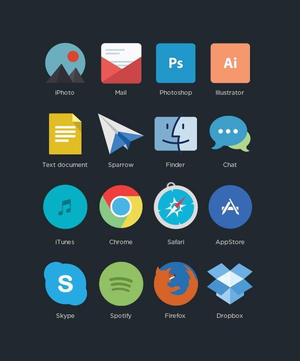 Free Interior Design Software For Pc: Free Flat Program Icons By Applove