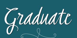 Graduate Script - Calligraphic Font by Fontforecast