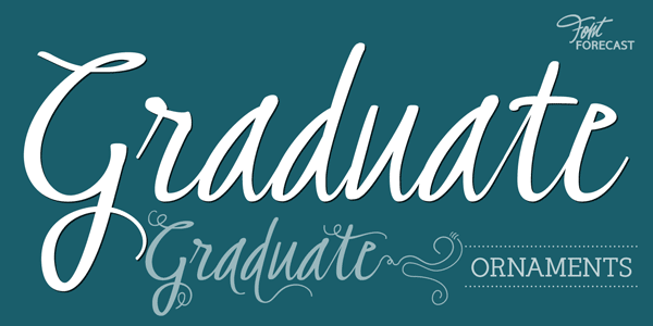 Graduate Typeface and Ornaments