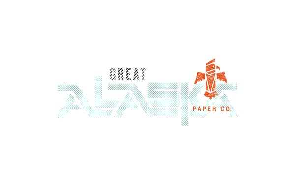 Great Alaska Paper Co. Logo Design by Fred Carriedo