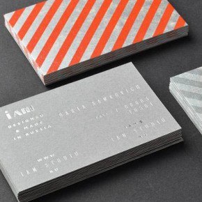 I AM - Russian Fashion Label Identity by The Bakery Design Studio