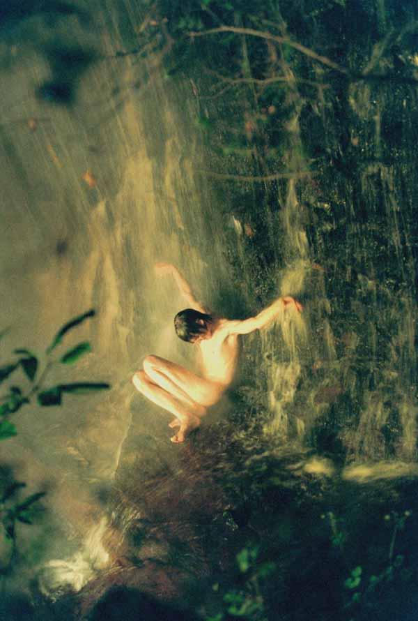 Jonas Waterfall - Photography by Ryan McGinley