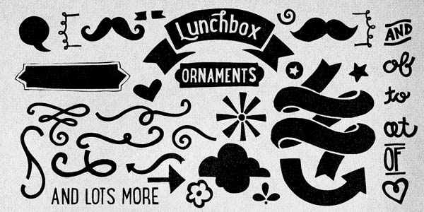 Lunchbox - Banners and Ornaments