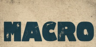Macro Print display font by Jagjagvi - featurted