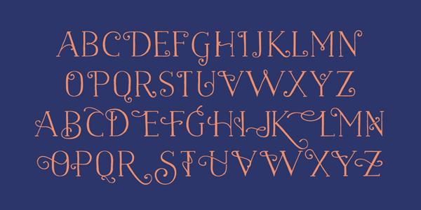 Naive Font - Characters