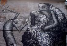 Phlegm Street Art Painting - Mural festival