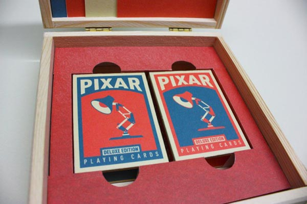 Pixar Playing Cards Set by Chris Anderson