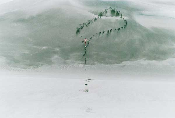 Question Mark - Photography by Ryan McGinley