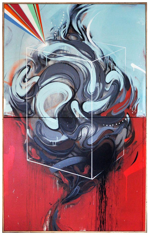Abstract Paintings by Artist Erik Otto