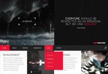 SUSPENSE - HTML Website Template by Entiri
