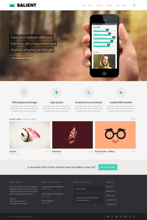 Salient - Responsive WordPress Theme by ThemeNectar