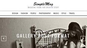 Simple Mag - Wordpress Blog Theme