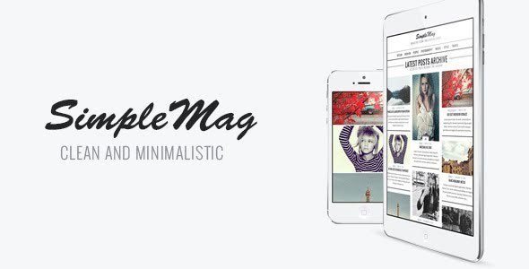 Simple Mag - WordPress Theme for Online Magazines and Blogs
