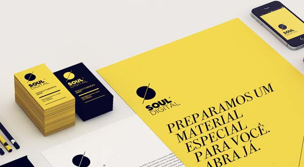 Soul Digital - Brand Design by Isabela Rodrigues - Sweety Branding Studio