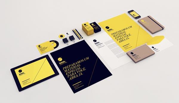 Soul Digital - Brand Identity by Isabela Rodrigues - Sweety Branding Studio
