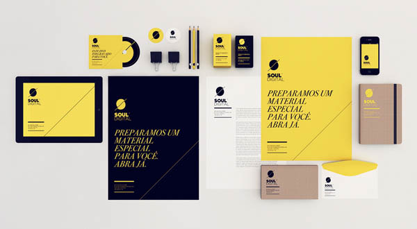 Soul Digital - Identity Design by Isabela Rodrigues - Sweety Branding Studio