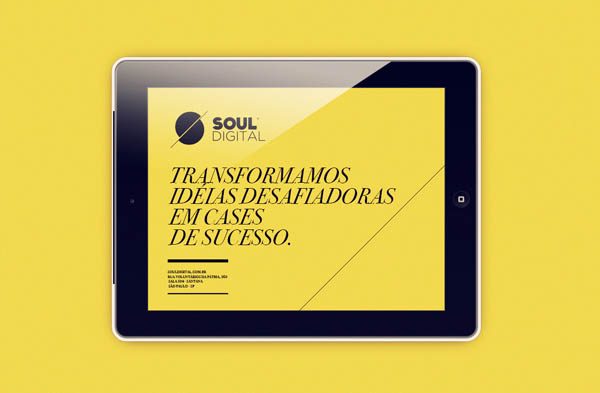 Soul Digital - Web Design by Isabela Rodrigues - Sweety Branding Studio