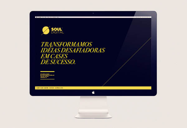 Soul Digital - Website Design byIsabela Rodrigues - Sweety Branding Studio