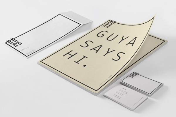 Corporate Identity by Woodlake Design Studio for Hansen Text & Concept
