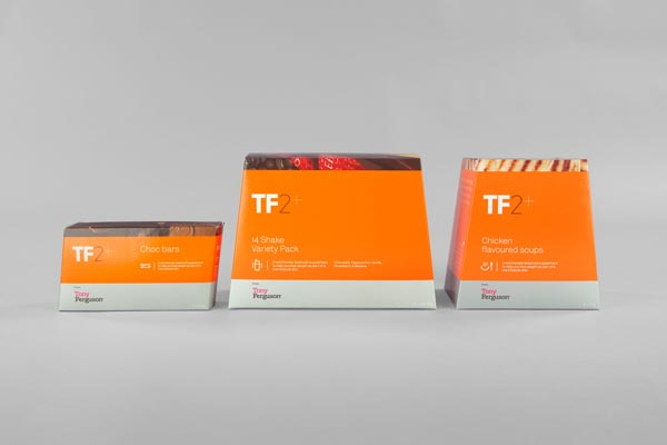 TF2+ from Tony Ferguson - Packaging Design by Maud