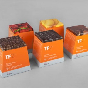 TF2+ Brand and Package Design by Maud