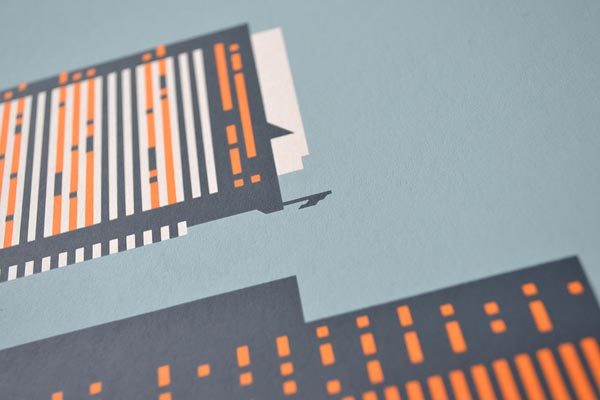 Tower Seattle Poster by Rick Murphy