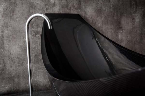 Vessel Bathtub - Interior Design by Splinter Works
