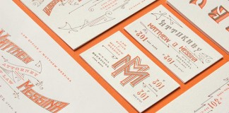 Vintage Typographic Identity by Kevin Cantrell for Law Office of Matthew Messina
