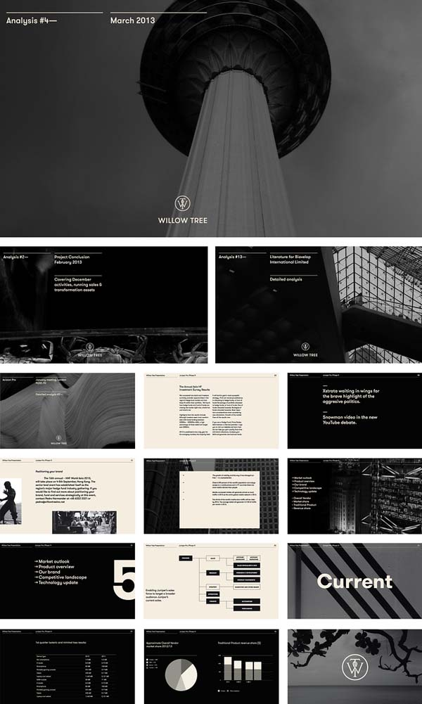 Willow Tree - Business Consultancy Identity by Bunch