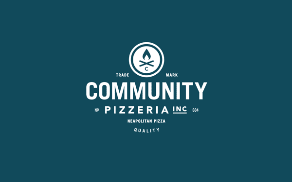 Community Pizzeria - Visual Identity by Foundry Co.