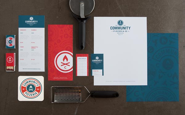 Community Pizzeria - Brand Identity by Foundry Co.