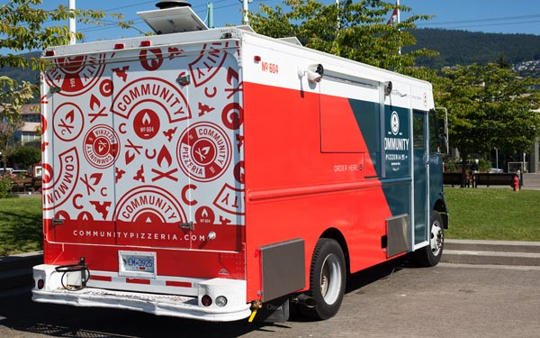 Community Pizzeria - Truck Wrap by Foundry Co.