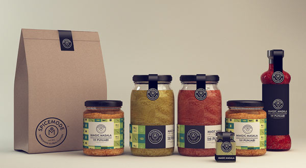 Spicemode Packaging Design by Isabela Rodrigues - Sweety Branding Studio