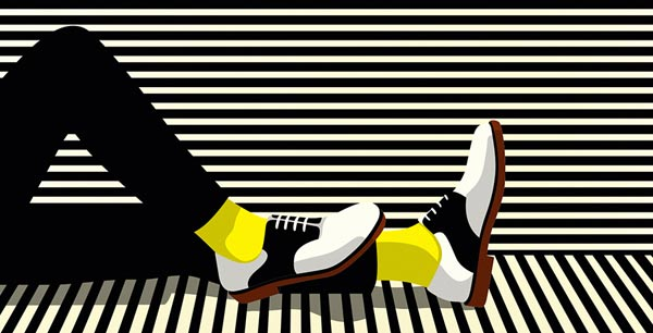ALDO Men - Spring/Summer 2013 Campaign - Illustration by Malika Favre