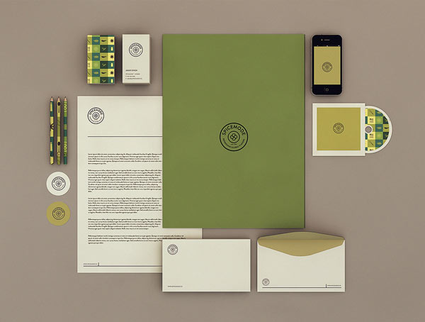 Spicemode Corporate Identity by Isabela Rodrigues - Sweety Branding Studio