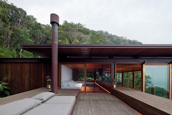 AMB House by Jacobsen Arquitetura - Roof Terrace