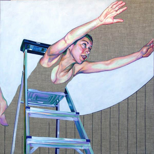 Acrylic Painting by Cristina Troufa
