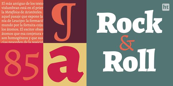 Alegreya ht Pro font family by Huerta Tipográfica