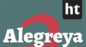 Alegreya ht Pro serif font family by Huerta Tipográfica