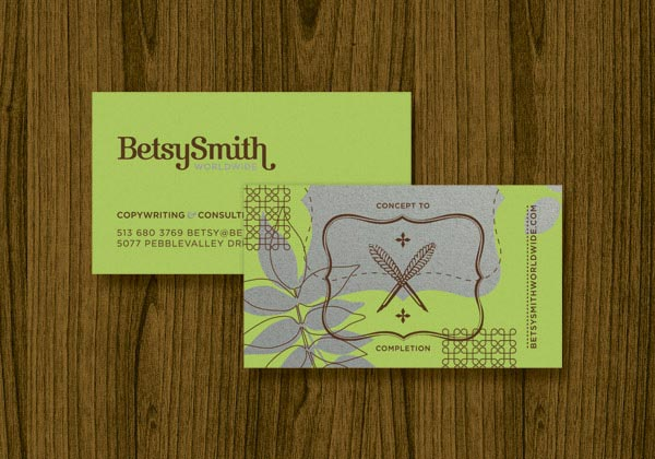 Betsy Smith Worldwide - Business Cards by Eight Hour Day