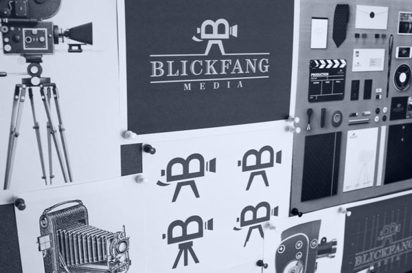 Blickfang Media - Visual Identity by Ramin Nasibov
