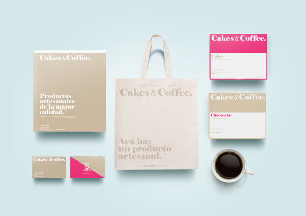 Cakes & Coffee Brand Identity by Empatía ® Studio