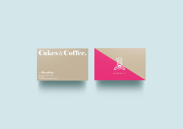 Cakes & Coffee Business Cards by Empatía ® Studio